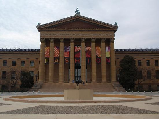 Philadelphia Museum of Art: The front of the museum