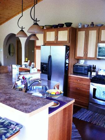 Glacier Creek Lodge: kitchen area