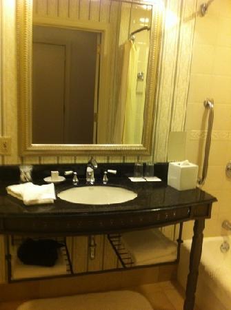 Renaissance Pittsburgh Hotel: Old style bathroom