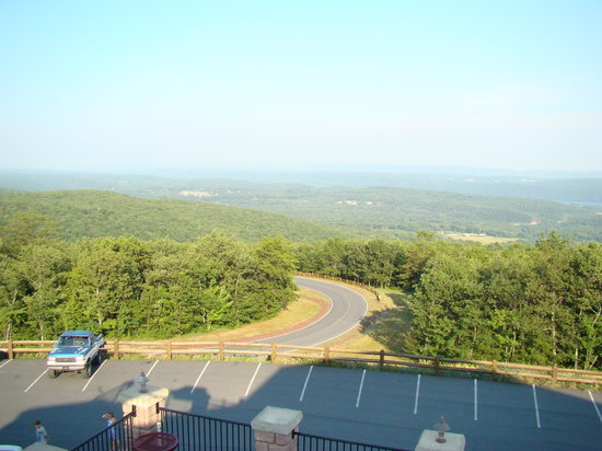 View from deck at Penn's Peak