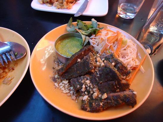 Susan Feniger's Street: Vietnamese beef with noodles