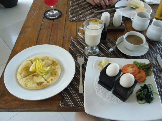 Villa Zest Boutique Hotel: breakfast - can be served in room or in restaurant