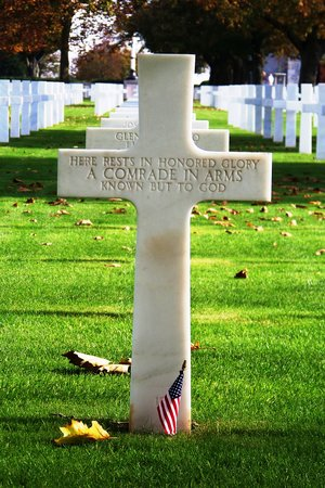 Saint James, France: Unknown Soldier's Grave