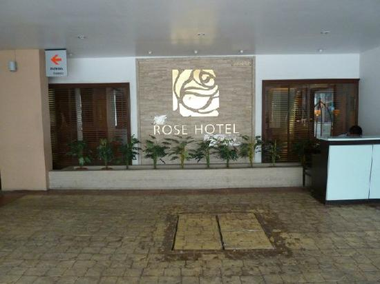 Rose Hotel: The entrance...