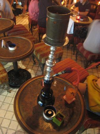 Merhaba: Check your shisha tube!