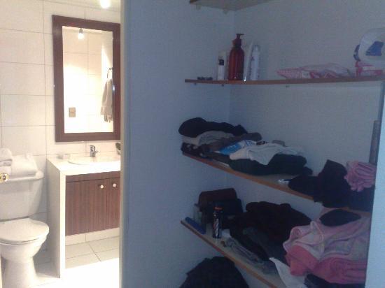Santiago Suite Apartment: closet