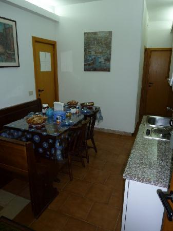 Il Pallino di Arianna : the breakfast area