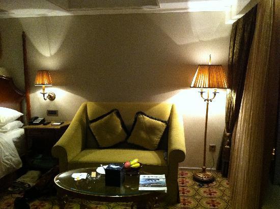 Pearl Hotel Starlake: Room Sitting Area