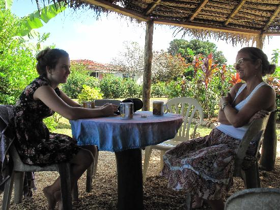 Atiu Guesthouse: Relaxing