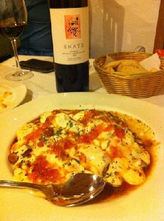 Restaurante Ramon Pipi : pulpo escandalera