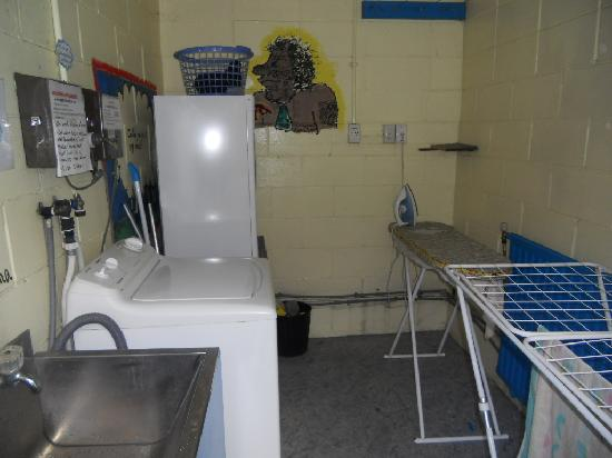 Spa Lodge: Laundry room one of..