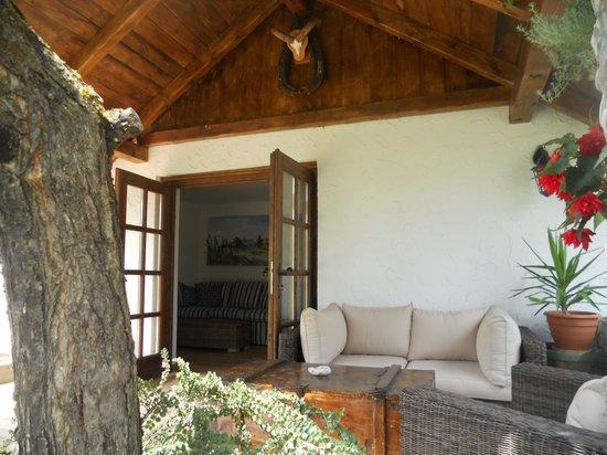 Cottage and Chalet Pr Klemuc: TERACE Cottage