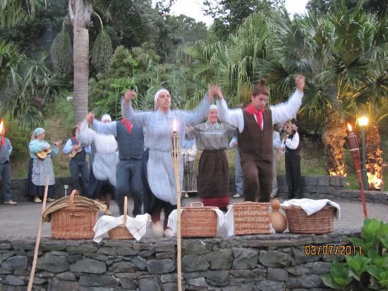 Quinta do Furao: Am Folklore-Abend im Garten