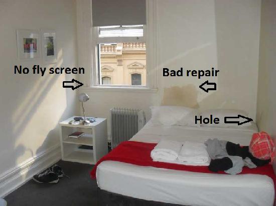 Wynyard Hotel: Our room