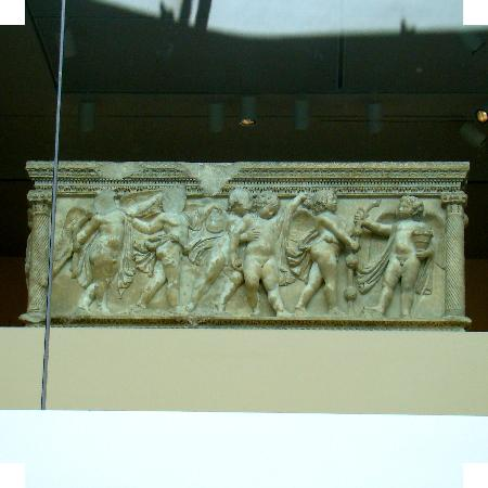 Virginia Museum of Fine Arts: Sarcophagus with Dionyses