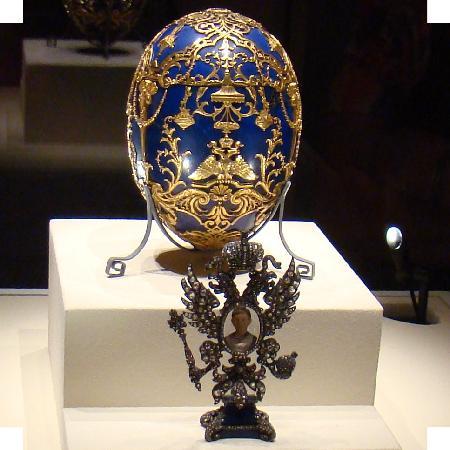 Virginia Museum of Fine Arts: Finally - a Faberge Egg