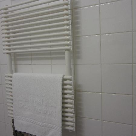 Hotel Stadt Freiburg: Detalle Baño