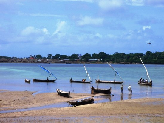 Pemba Island: Village/island (fishing people) of Kojani