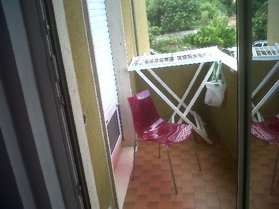 Residence Linda: Balcone