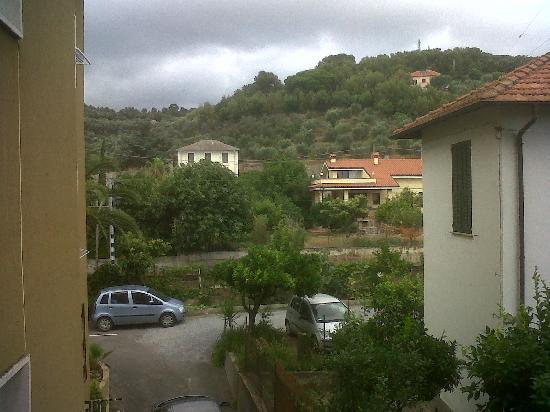 Residence Linda: Vista dal balcone