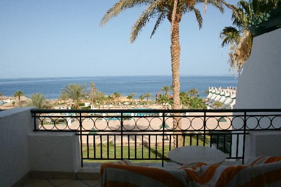 Hilton Sharm Waterfalls Resort: View from the room
