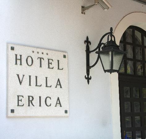 Hotel Villa Erica: Eingang des Hauses