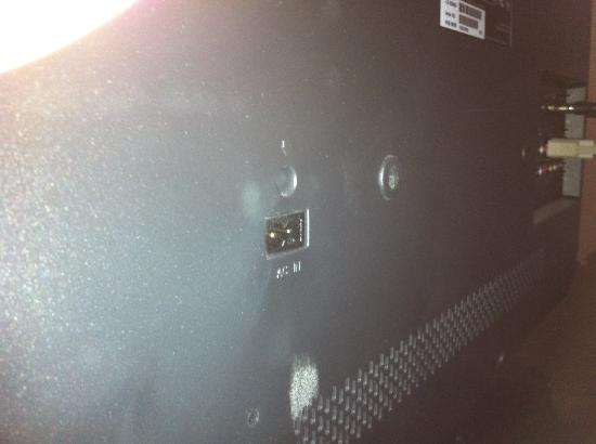 Crowne Plaza Philadelphia  -  Bucks County: TV Missing Power Cord