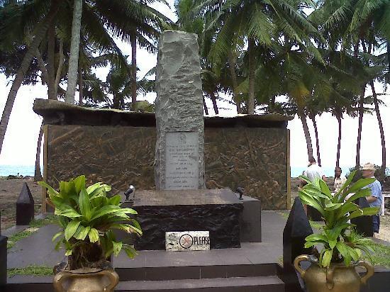 Aluthgama, Sri Lanka: Tsunami Memorial