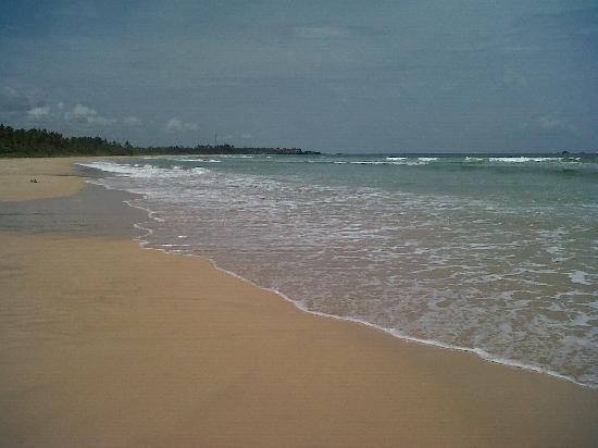 Aluthgama, Sri Lanka: Beach