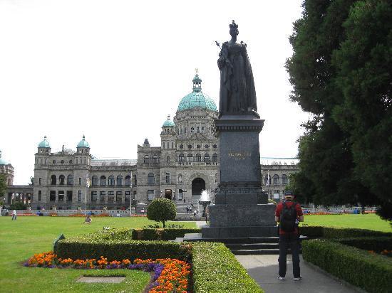 Victoria, Kanada: ビクトリア, ブリティッシュコロンビア州議事堂
