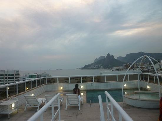 Atlantis Copacabana: Desde la terraza