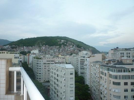 Atlantis Copacabana: Otra vista desde la terraza