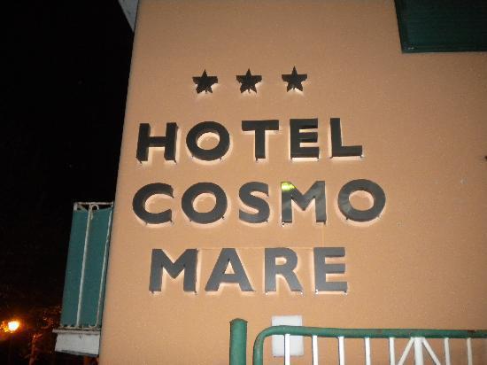 Hotel Cosmomare: Ingresso