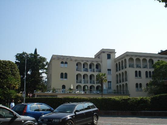 Hotel Terminus: facciata
