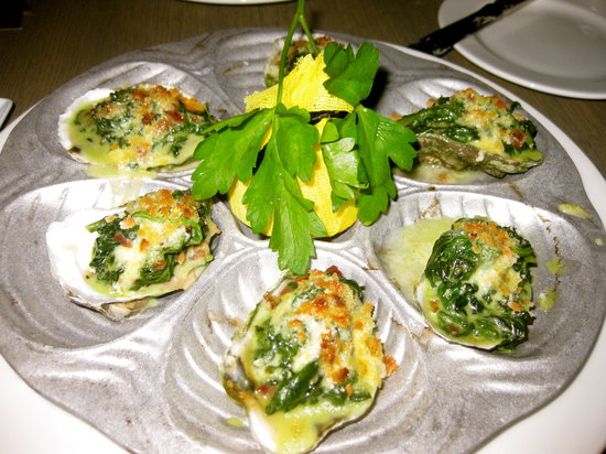 Mooo: Oyster appetizer was delicious!