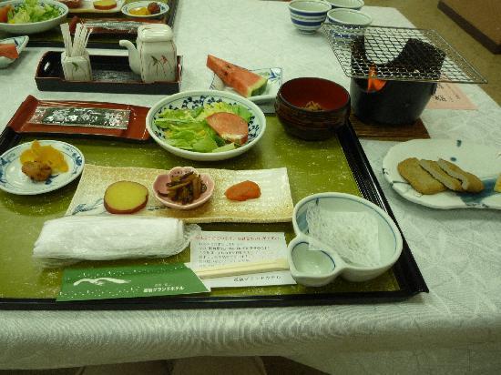 Dogo Grand Hotel: 朝食