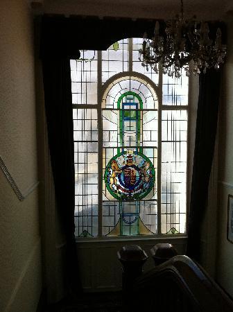 Royal Victoria Hotel: Vitrail hôtelier