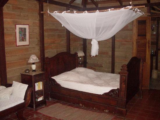 Habitation Matouba: Bett