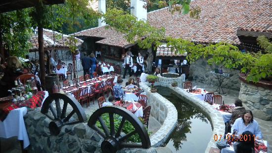 Gardenm of the restaurant Vodenitzata