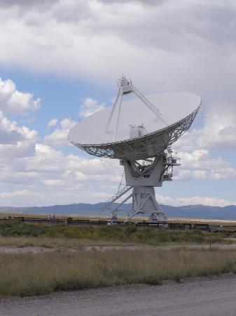 Very Large Array: Contact!