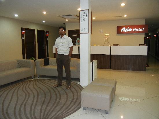 Azio Hotel: Hotel Lobby