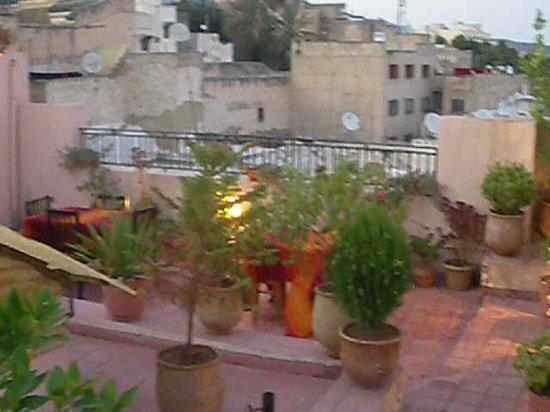 Dar Touria: terrasse