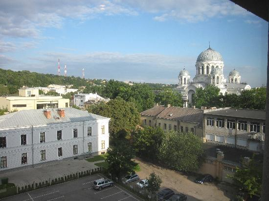 Park Inn by Radisson Kaunas: View from room
