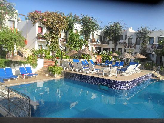 Bronze Hotel : Clean & Tidy Pool Area!!