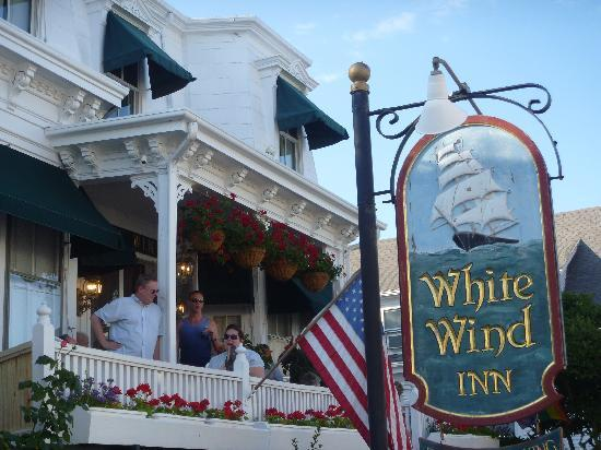 White Wind Inn: Front Porch Cocktail Party