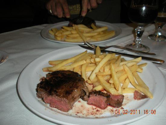 Filet Mignon dinner - Picture of La Langosta, Piriapolis ...