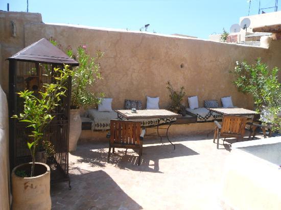 Riad Boujloud: La terrasse