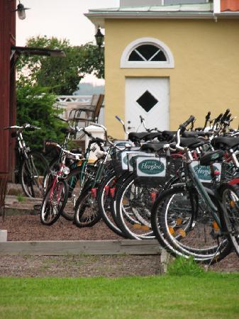Hotell Hovgard: bikes bikes bikes
