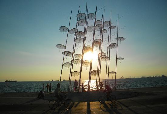 Anatolia Hotel Thessaloniki: Sunset in Thessaloniki
