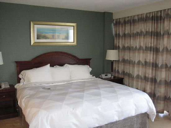 Radisson Suite Hotel Oceanfront King Size Sleep Number Bed